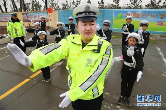 (教育)(7)山东即墨:交通安全进校园