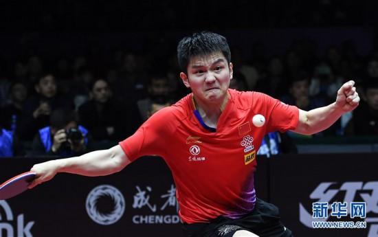 (体育)(16)乒乓球――国际乒联男子世界杯:樊振东夺冠