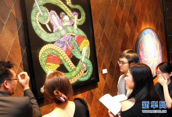 (请发上海频道)日本画家 上海个展