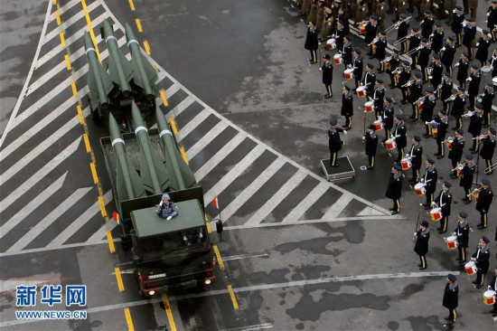 (国际)(6)罗马尼亚举行国庆阅兵式