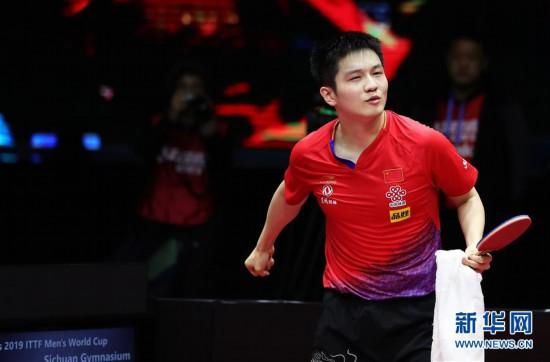 (体育)(1)乒乓球――国际乒联男子世界杯:樊振东夺冠