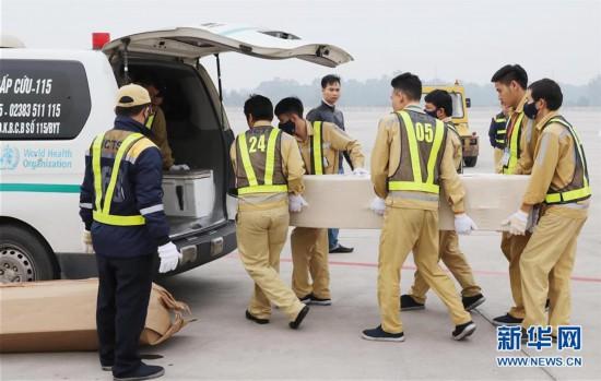 (国际)(3)英国货车惨案全部遇难者遗体和骨灰运回越南