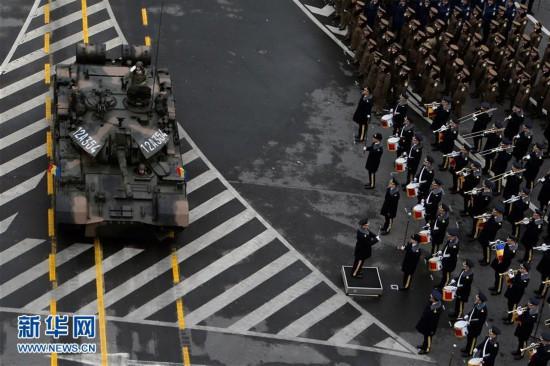 (国际)(5)罗马尼亚举行国庆阅兵式