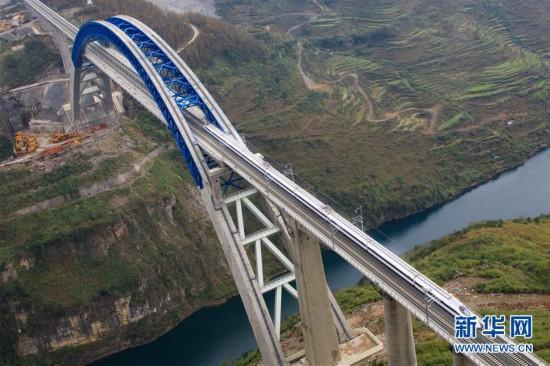 (经济)(7)成贵高铁开始全线拉通空载模拟运行