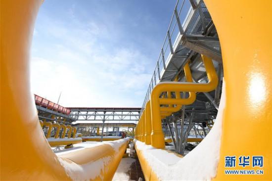 (图文互动)(8)俄罗斯天然气通过中俄东线天然气管道正式进入中国