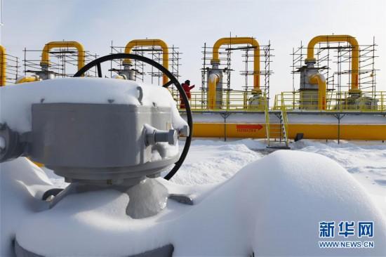 (图文互动)(2)俄罗斯天然气通过中俄东线天然气管道正式进入中国
