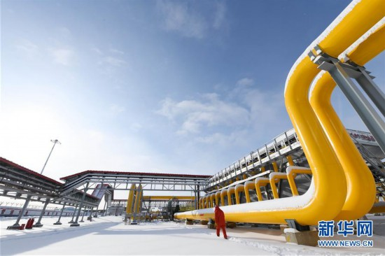 (图文互动)(7)俄罗斯天然气通过中俄东线天然气管道正式进入中国