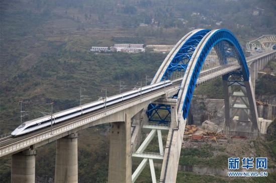 (经济)(1)成贵高铁开始全线拉通空载模拟运行