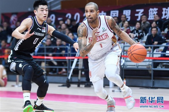 (体育)(1)篮球――CBA常规赛:浙江稠州银行对阵辽宁本钢