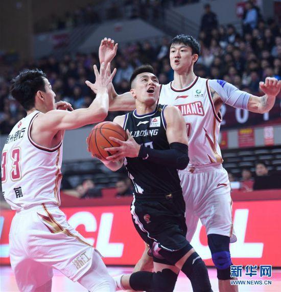 (体育)(2)篮球――CBA常规赛:浙江稠州银行对阵辽宁本钢