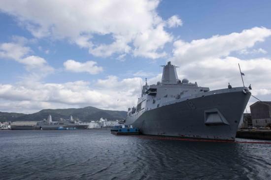 美军向日本增派2万吨巨舰到位大幅提升两栖战力