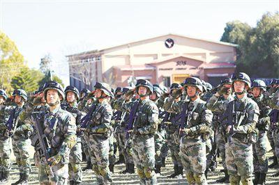 """""""勇士-7""""中巴驻训联演在巴基斯坦举行"""