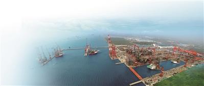 """船舶海工产业转型升级 """"南通智造""""鸣笛远航"""