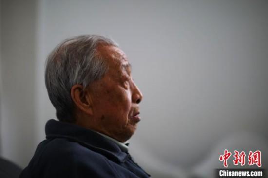 南京大屠杀幸存者陈德寿:战争带来家破人亡(