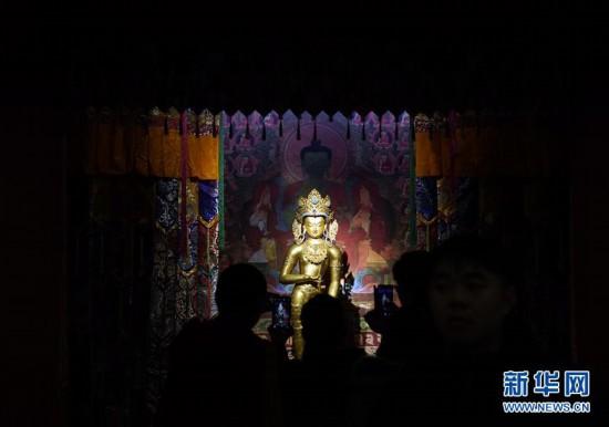 """(文化)(1)""""须弥福寿――当扎什伦布寺遇上紫禁城""""展亮相故宫"""