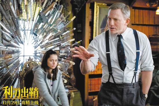 《利刃出鞘》豆瓣评分8.3 但为何中国观众就是不买账?