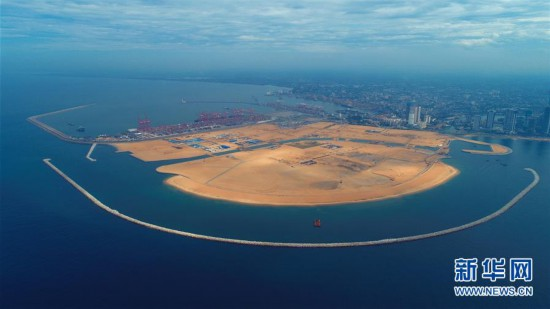"""(国际・图文互动)(9)通讯:""""五年我们为斯里兰卡造出一片新土地""""――科伦坡港口城人的自豪与希冀"""