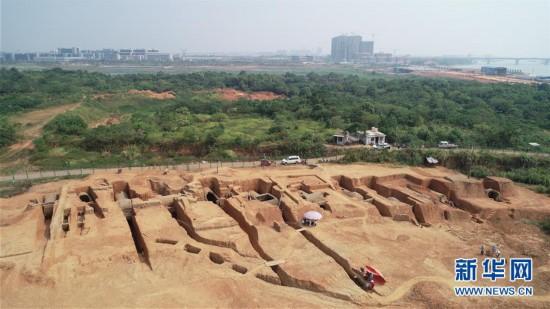 (图文互动)(1)江西南昌发现罕见大型六朝墓群