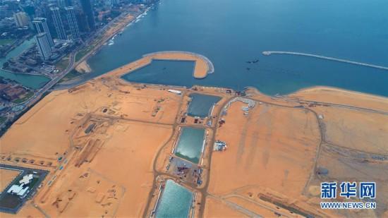 """(国际・图文互动)(2)通讯:""""五年我们为斯里兰卡造出一片新土地""""――科伦坡港口城人的自豪与希冀"""