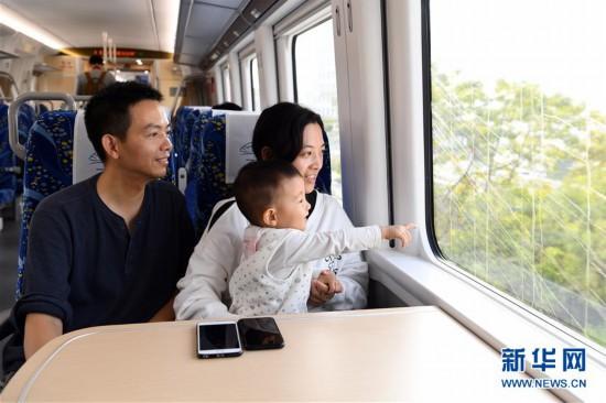 穗深城际铁路正式开通运营