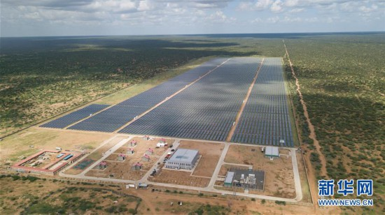 (国际)(1)中企承建东非最大光伏电站正式投运
