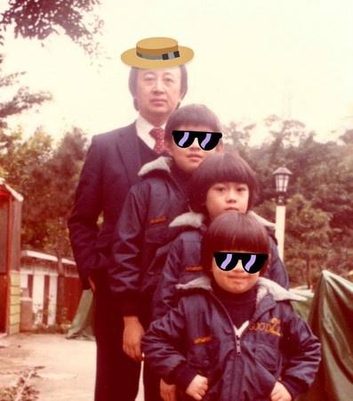 林志穎晒35年前超萌童年照厚厚香菇頭超像Kimi