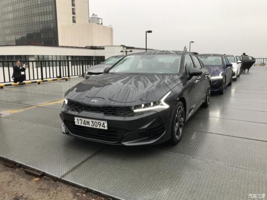 国产全新起亚K5(第五代)将于2020年4月正式亮相