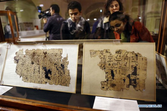 EGYPT-CAIRO-EGYPTIAN MUSEUM-EXHIBITION OF FRENCH EXCAVATIONS