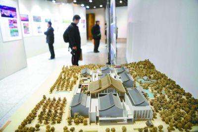 北京建筑闪亮传统建筑展此次展览将持续至本周六