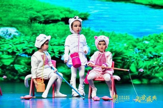 """中央軍委機關事務管理總局紅星幼兒園""""閱讀+戲劇——讓閱讀動起來""""主題演出"""