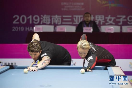 (體育)(5)台球——世界女子9球錦標賽:英國選手凱莉·費雪奪冠