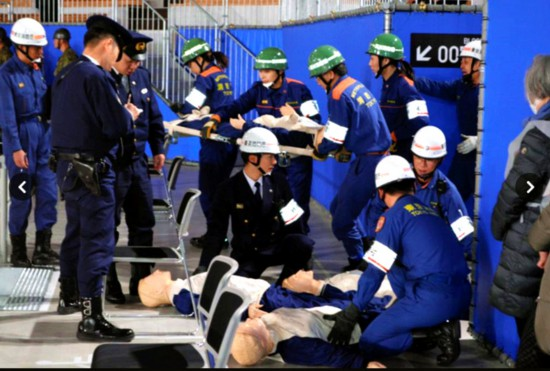 假想奥运期间发生7级地震东京有
