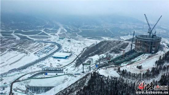 河北:竞赛场馆拔地而起冰雪运动