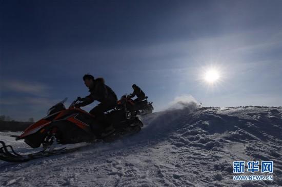冬日寻雪趣