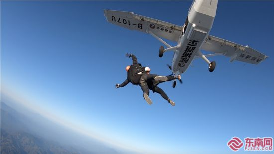 全省首个高空跳伞基地落地沙县