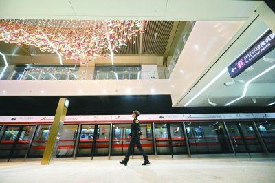 北京两段地铁新线周六开通试运营