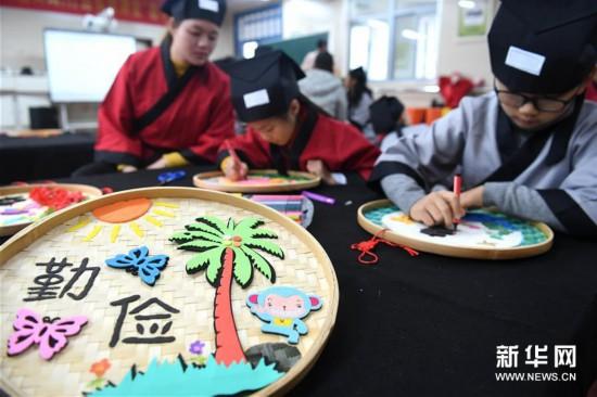 (社会)(2)合肥:传统文化迎新年