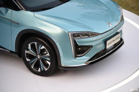 廣汽蔚來旗下首款純電動車型HYCAN 007亮相