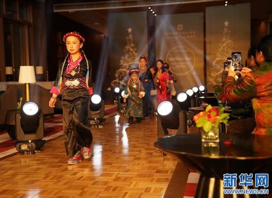 雪域时尚――少儿时装秀在拉萨举行