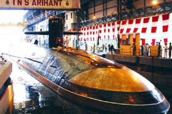 印度海军立下雄心要造24艘潜艇包含6艘核潜艇