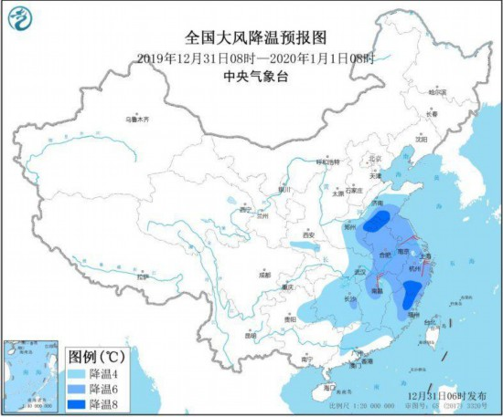 受冷空气影响辽宁部分地区降温10