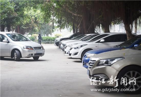 湛江市新增一批公共停车泊位