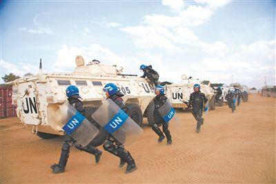 立足维和战场锤炼蓝盔精兵