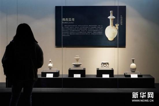 (文化)(1)唐代白瓷展亮相西安