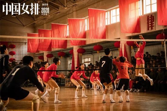 电影《中国女排》发集体版海报定格拼搏瞬间meimei