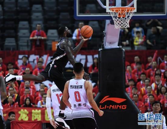 (体育)(4)篮球——CBA常规赛:深圳马可波罗不敌辽宁本钢
