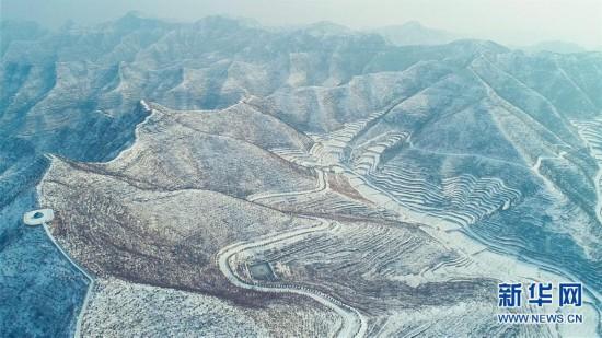 (环境)(8)河北涉县:雪映太行梯田美