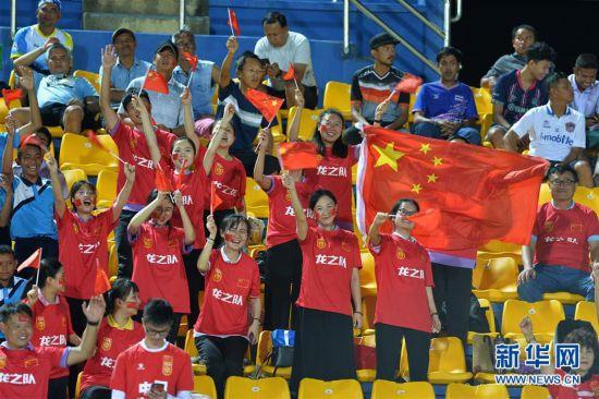 (體育)(8)足球——亞足聯U23錦標賽:中國隊負韓國隊