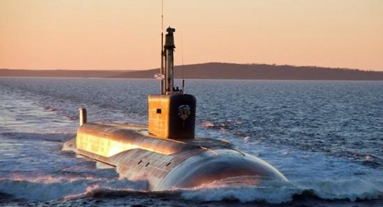 俄媒:俄海军将在1月底接收新型战略核潜艇