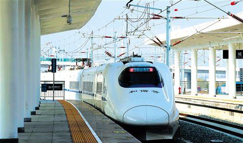 长三角地区以全国8%的铁路营业里程,承担着全国20%的旅客发送量